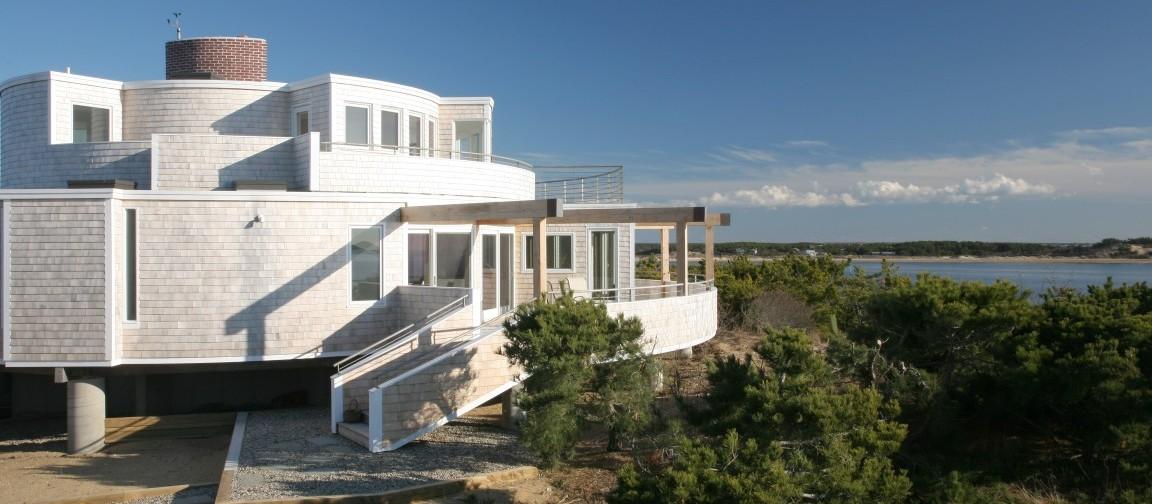 Round House Aline Architecture Cape Cod Architecture